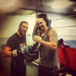 Boxing with Frankie